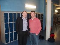 2011 Seamus Moynihan agus Sean Ó Flannúra