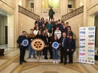Naoise Mac Gearailt i Strasbourg le Rotary Ireland