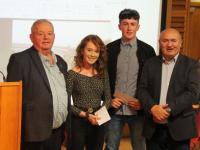Bronnadh Sparánacht an Bhlascaoid 2019 ar bheirt iar-scoláire as Pobalscoil Chorca Dhuibhne, Tríona Ní Shúilleabháin, Clochar agus Oisín Ó Cíobháin, Muiríoch.